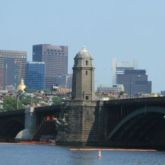 Boston Skyline from the Cambridge side of the river